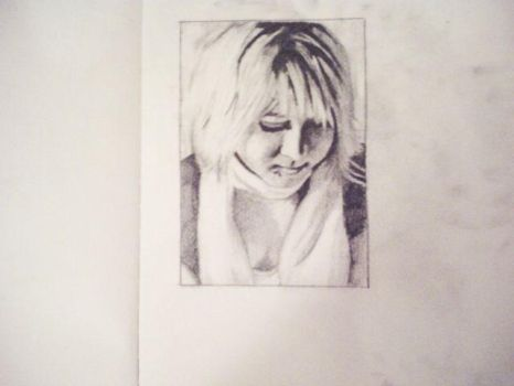 Self portrait drawing by BeautifulDecayal