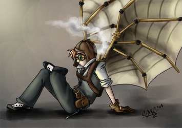 Colonels Corner 85 29 Steampunkd Icarus By JillValentine89