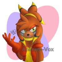 .:Request:. Cherry-Lee the Echidna by Silverxuno