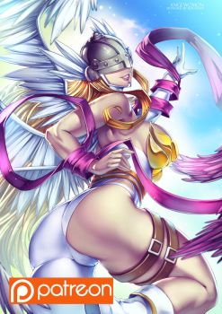 Angewomon Patreon by bokuman