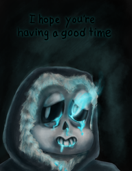[Undertale Spoilers] GOOD TIME by pinkharte