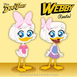 Webby Vanderquack - Vintage and New Attire by bunnyfriend