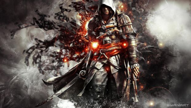 Assassin's Creed IV - Black Flag 3rd Wallpaper by TheSyanArt