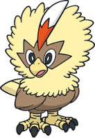 Shiny Rufflet : DreamWorld Art