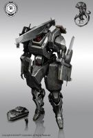 multi role mecha by StTheo