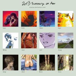 2013 Summary of Art by enonea
