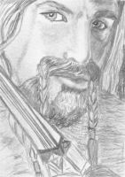 aceo Dean O'Gorman as Fili The Hobbit by BethannNg