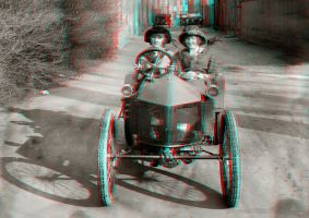Out for a Drive 3-D conversion by MVRamsey