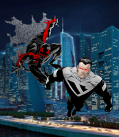 Spider-Man 2099 and Superman Beyond by SUPERMAN3D
