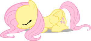 Fluttershy Bowing by pokerface3699