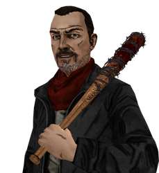 Negan - The Walking Dead (XPS) by AKandrov
