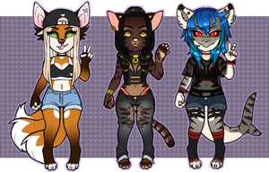ANTHRO ADOPTS #2 | CLOSED by momoia