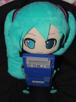 Miku Plays the GameBoy by HannahDoma