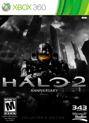 Halo 2: Anniversary Cover Collector's Edition by iProtiige