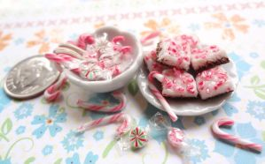 Peppermint Bark and Candy canes by WaterGleam