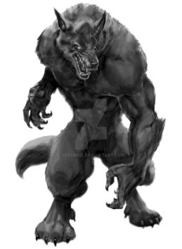 werewolf on zazzle artsprojekt by joverine
