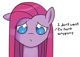 Pinkamena reads some fanfiction by adamscage