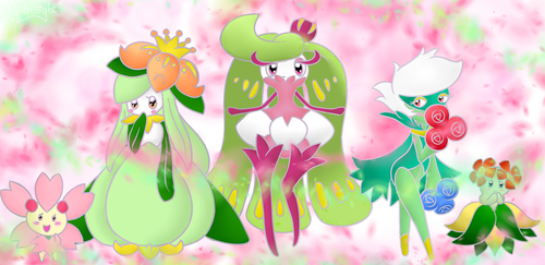 Natural Beauties by Peach-X-Yoshi