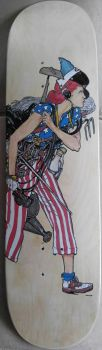Norman Rockwell liberty girl by brolicdesigns