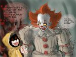 Pennywise and Georgie. by Spizzina00