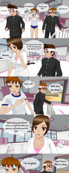 Always There - Page 4  Yandere Simulator Comic by Eloiss