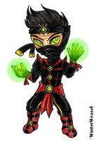 + Ermac - chibi + by CathrieWarehouse