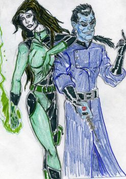 Drakken and Shego by theaven