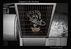 Trapped in the Machine by Dorkunderwater