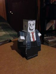Frankenstein CubeeCraft by SuperVegeta71290