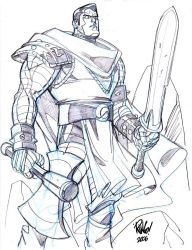 MEDIEVAL COLOSSUS by Wieringo