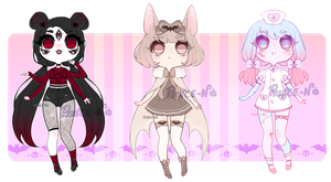. : halloween adoptables [closed] : . by prince-no