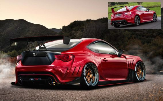 Toyota-86-rear-static  by max-578