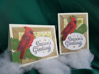 Cardinal Christmas Cards by calzephyr
