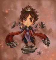 League of Legends - Taliyah Chibi by GM-Pi