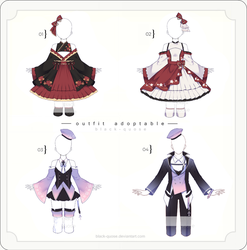 [OPEN] Outfit Adopts | Set Price by Black-Quose