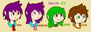 MysticEX headshots by mitchika2