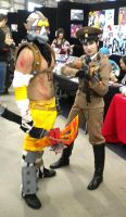 Krieg and Dragunov by Silent-Neutral