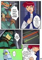 TMNT TCRI 2105: Page 13 by KameBoxer
