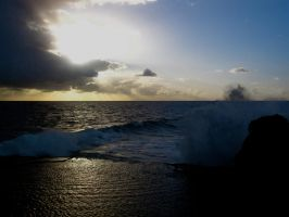 Tongan Waves by Bambi-Claire