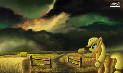 Storm is coming by IoannTulynkin