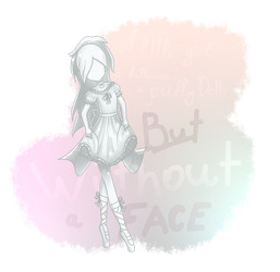 A Sadness of a Porcelain Ballerina by SimsValeria