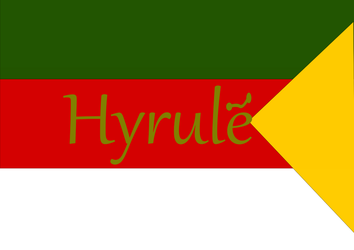 Hyrule Flag (Remastered) by HyruleIsARealPlace