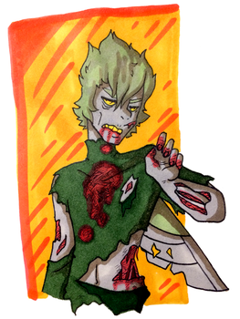 Goretober Day 29 - Undead by CopperSpy