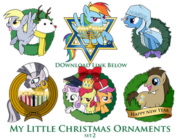 My Little Pony Christmas Ornaments Set 1 DOWNLOAD by ...