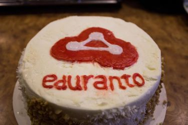 Eduranto.com cake by Esseti