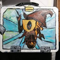 wizard claptrap lunchbox by kakodrake