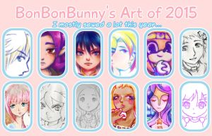 2015 Art Summary by Bon-Bon-Bunny