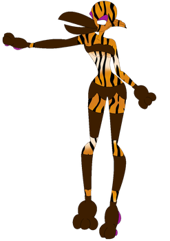 Toucan Tiger Girl V0.1 by dennismennis13