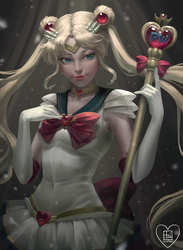 Sailor Moon Colouring Contest by rrrotten