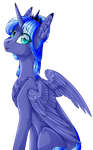 Princess Luna  Big Collab  (NightStarss) by TwinkePaint